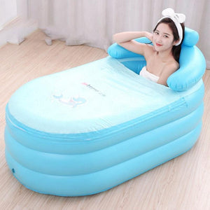 Portable Stand Alone Inflatable Bathtub For Adults Style 11 - Shopptique