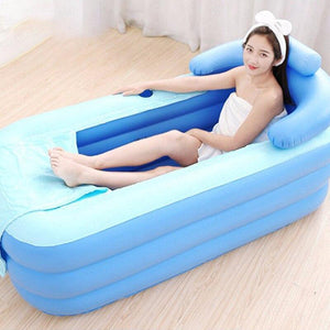 Portable Stand Alone Inflatable Bathtub For Adults Style 15 - Shopptique