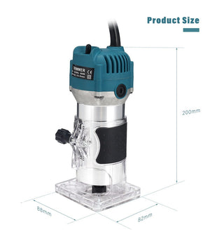 Handheld Wood Router Trimmer Tool - Shopptique