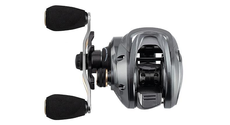 Premium Baitcaster Fisher Reel - Silver - Shopptique