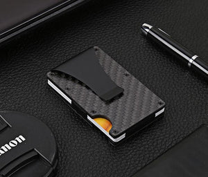 Carbon Fibre RFID Blocking Wallet - Shopptique