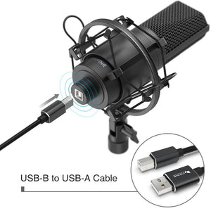 Premium USB Recording Studio Recording Microphone - Shopptique