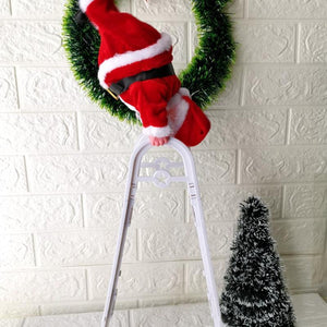 Climbing Santa Ladder Christmas Toy - Shopptique