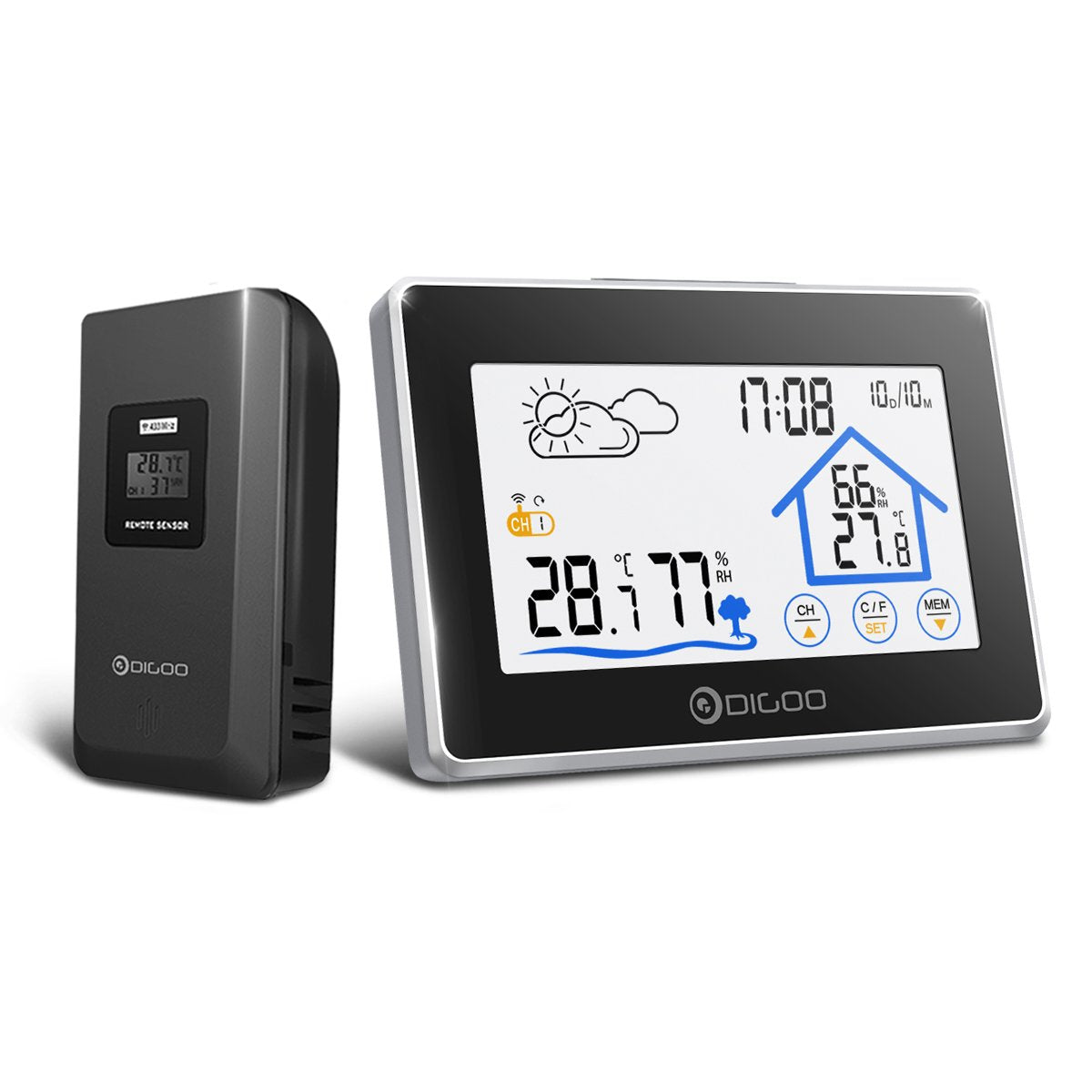Indoor Outdoor Home Weather Station - Shopptique