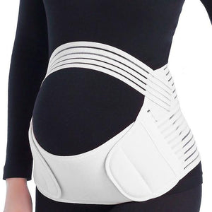 Pregnancy Belly Support Belt White / L - Shopptique