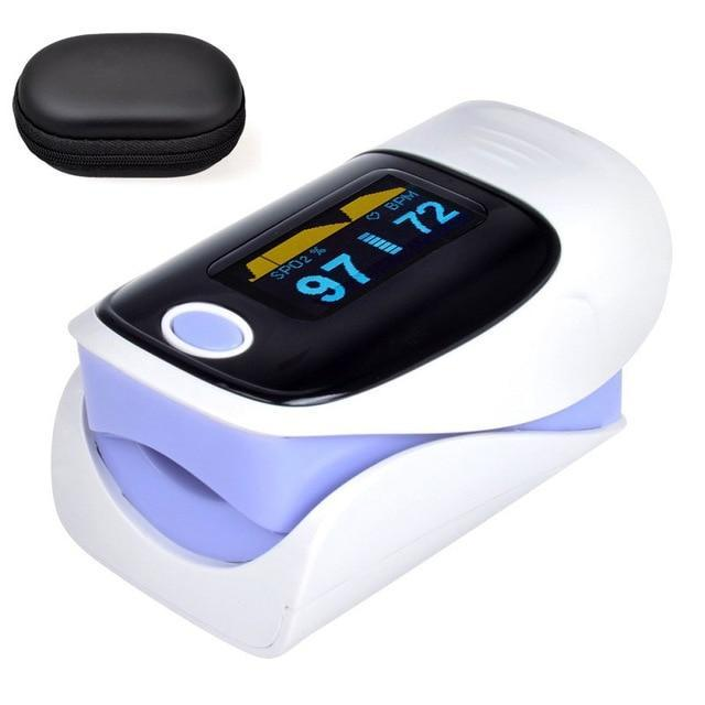 Finger Blood Heart Rate Pulse Oximeter - Shopptique