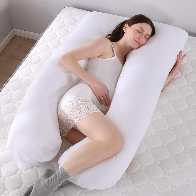 U Shaped Pregnancy Maternity Body Pillow White - Shopptique