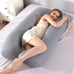 U Shaped Pregnancy Maternity Body Pillow - Shopptique