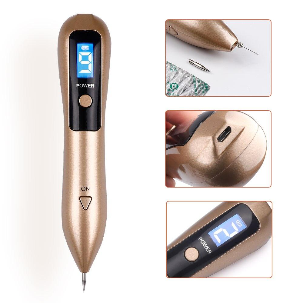 Skin Tag Removal Mole Plasma Pen Gold - Shopptique