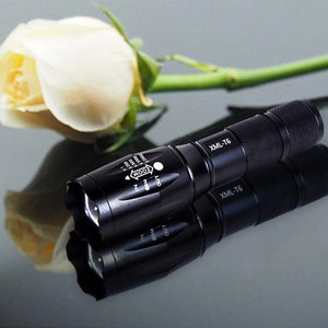Tactical Flashlight Military Style T6 - Shopptique