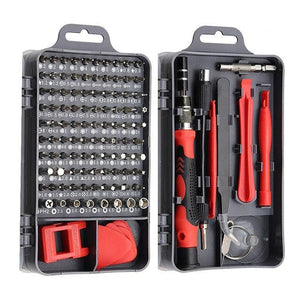 115 in 1 Electronics Precision Screwdriver Set Red - Shopptique