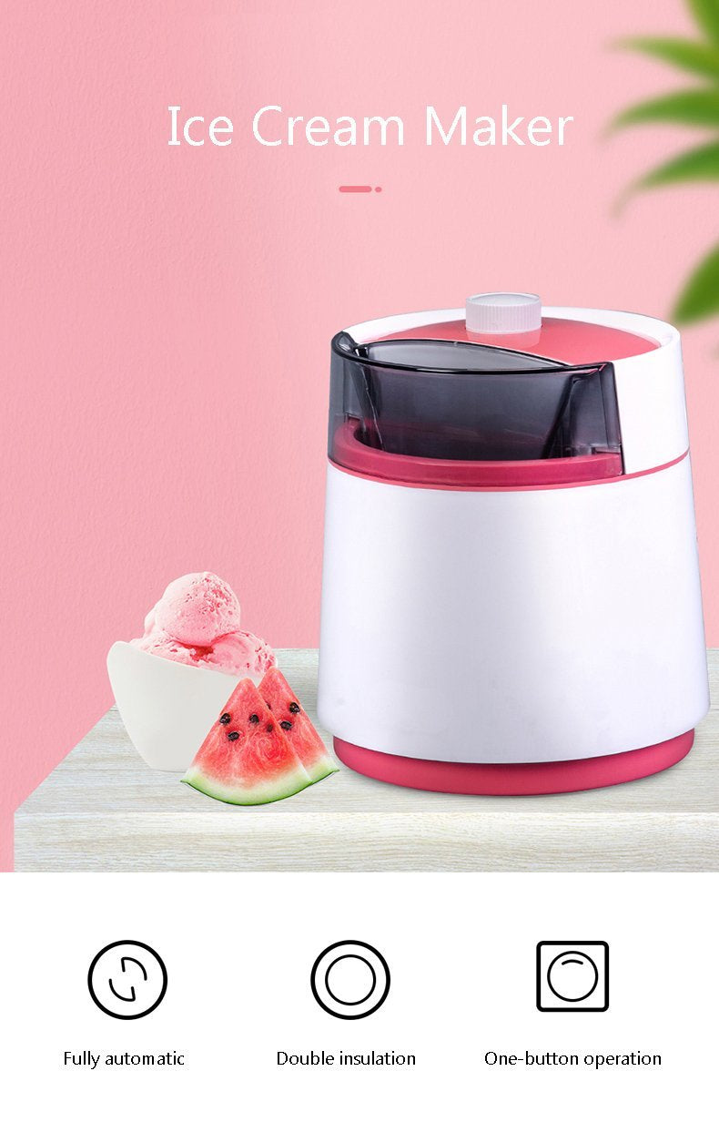 Premium Home Electric Ice Cream Maker Machine - Shopptique