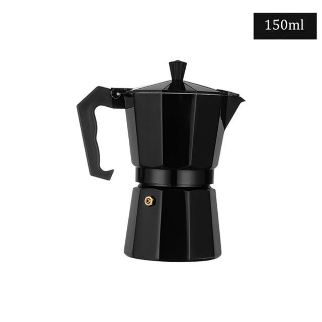 Aluminum Stovetop Moka Coffee Maker Espresso Pot - Shopptique