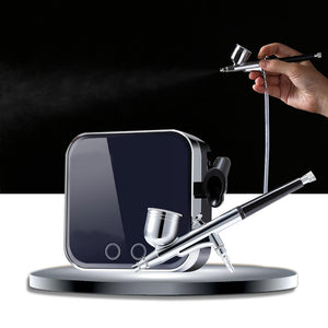 Airbrush Makeup Machine Kit With Compressor - Shopptique
