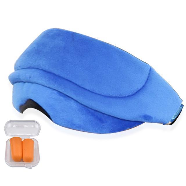 Premium Eye Cover Sleep Mask Blue - Shopptique