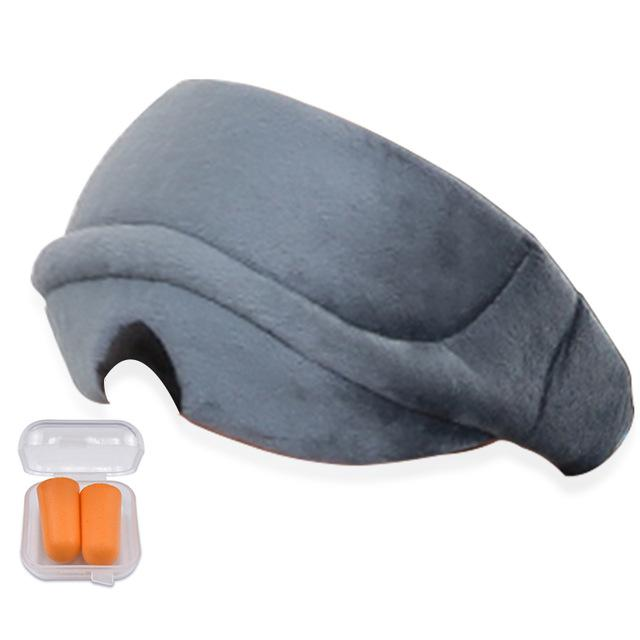 Premium Eye Cover Sleep Mask Gray - Shopptique