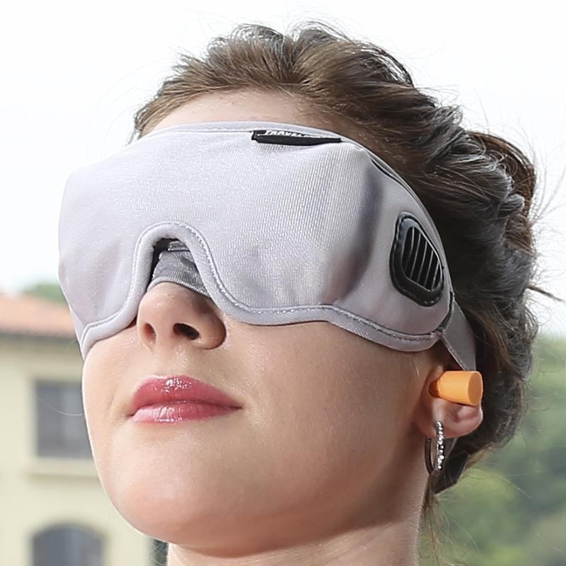 Premium Eye Cover Sleep Mask Light Gray - Shopptique