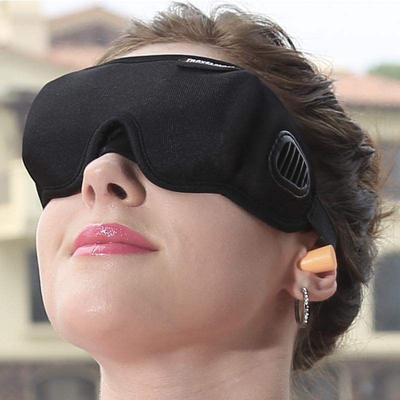 Premium Eye Cover Sleep Mask Black - Shopptique
