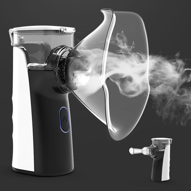 Portable Ultrasonic Nebulizer Handheld Machine - Shopptique