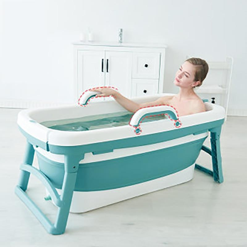 Portable Stand Alone Bathtub For Adults 4.5 feet / Blue - Shopptique