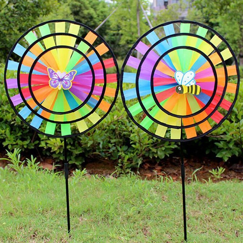Colorful Garden Yard Wind Spinner - Shopptique