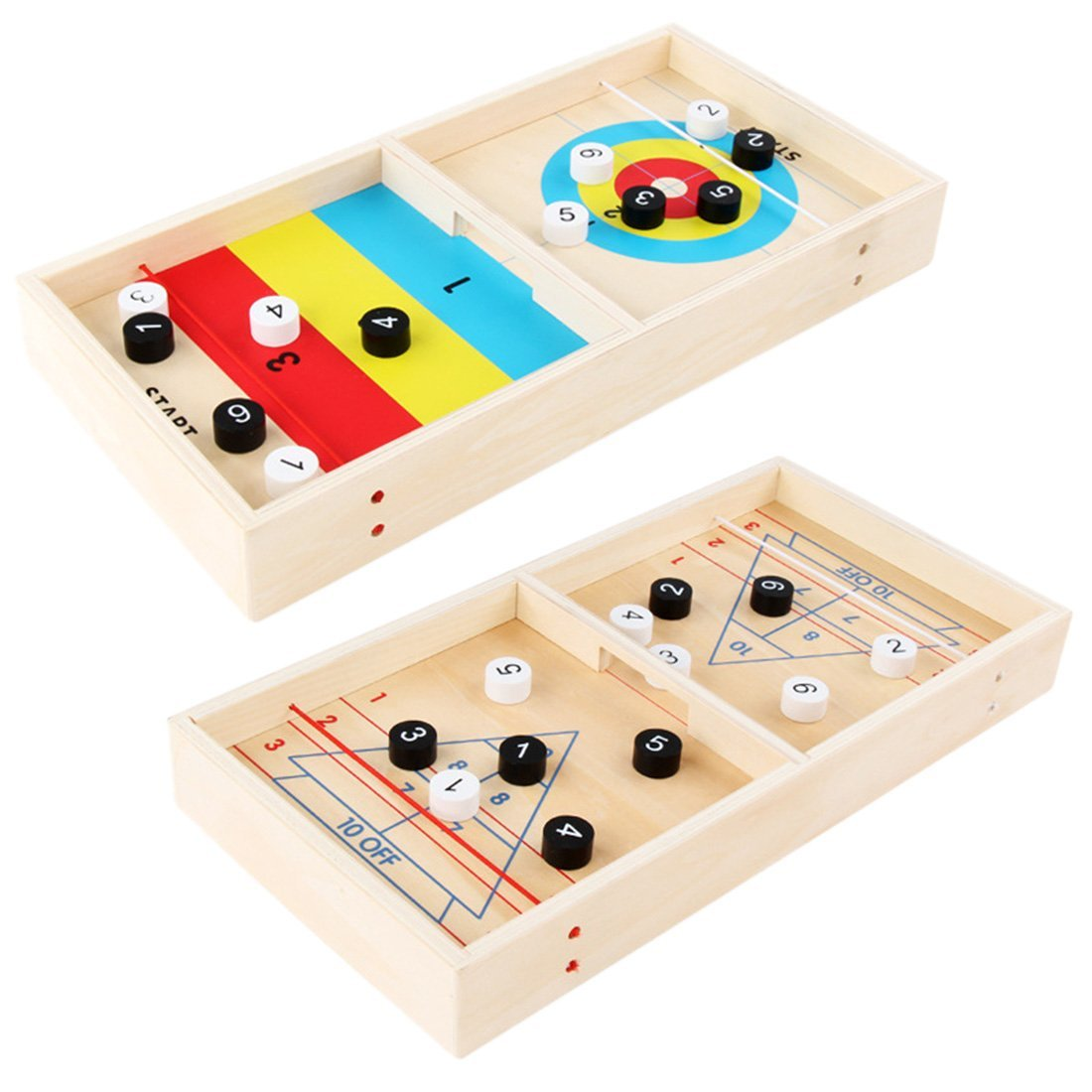 "Portable Tabletop Shuffleboard 15"" - Shopptique"