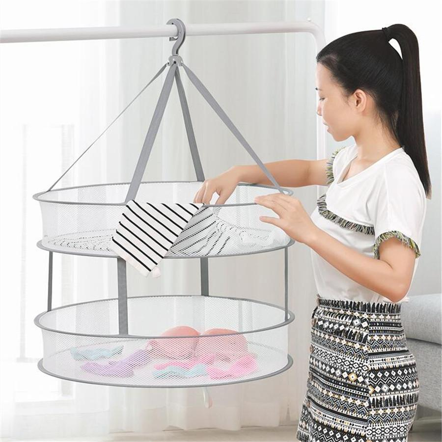 Hanging Clothes Laundry Drying Rack 45x78cm - Shopptique