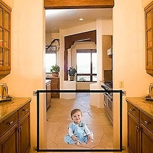 Retractable Stairs Baby Safety Gate - Shopptique