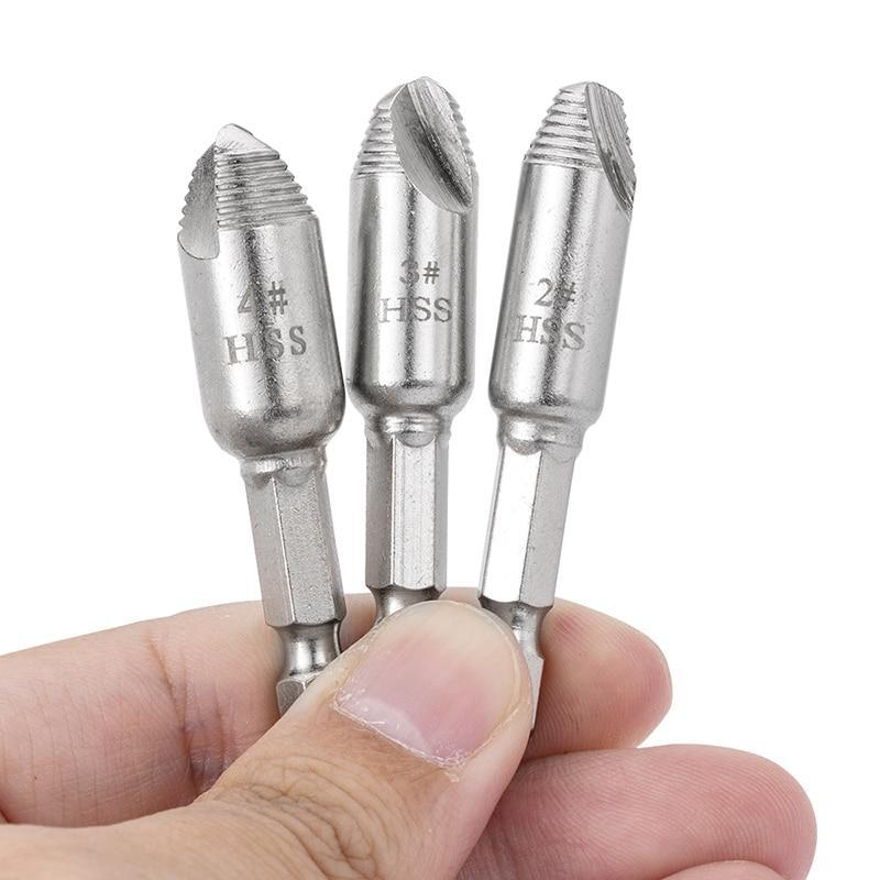 Screw and Broken Bolt Extractor Set - Shopptique