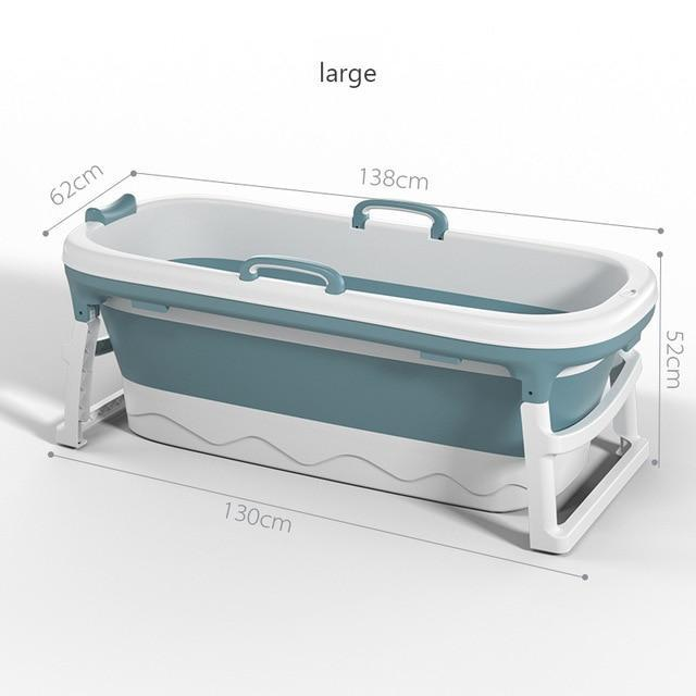 Foldable Stand Alone Bathtub For Adults - Shopptique