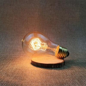 LED Vintage Edison Filament Light Bulb A19 40W / 220V - Shopptique