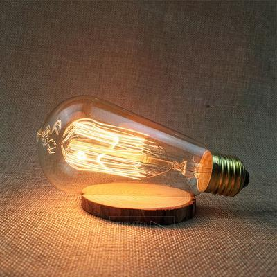 LED Vintage Edison Filament Light Bulb ST58 40W / 220V - Shopptique