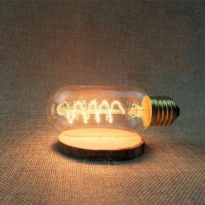 LED Vintage Edison Filament Light Bulb T45S 40W / 220V - Shopptique