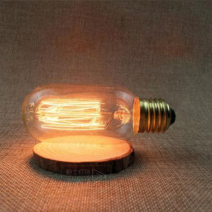 LED Vintage Edison Filament Light Bulb T45L 40W / 220V - Shopptique