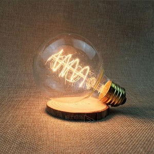 LED Vintage Edison Filament Light Bulb G80S / 220V - Shopptique