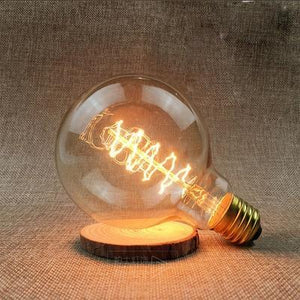 LED Vintage Edison Filament Light Bulb G95S 40W / 220V - Shopptique