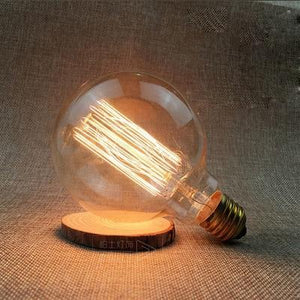 LED Vintage Edison Filament Light Bulb G95L 40W / 220V - Shopptique