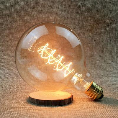 LED Vintage Edison Filament Light Bulb G125S 40W / 220V - Shopptique