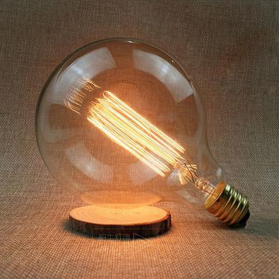 LED Vintage Edison Filament Light Bulb G125L 40W / 220V - Shopptique