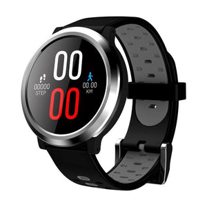 Wearable Digital Wrist Blood Pressure Monitor Watch Black Silicone - Shopptique