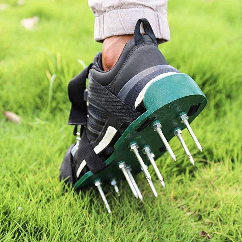 Premium Manual Lawn Spike Aerator Shoes - Shopptique