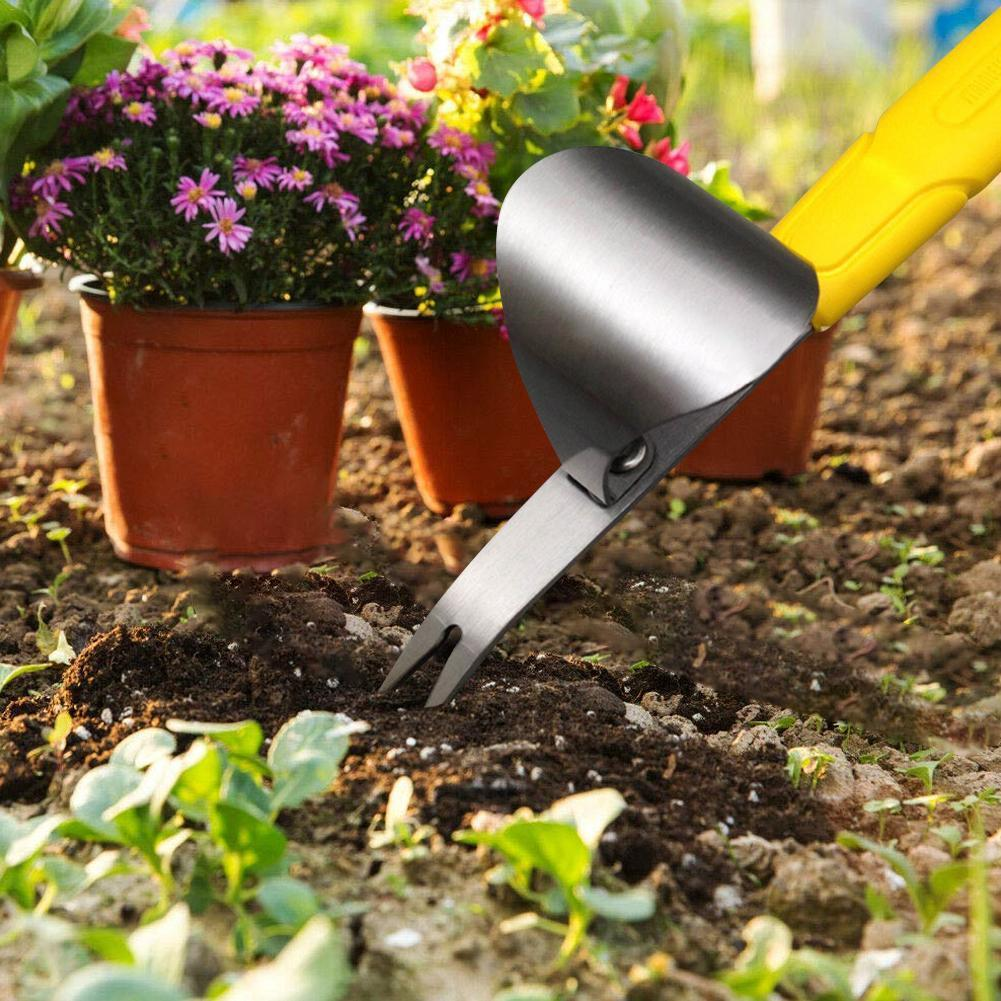 Premium Garden Weed Removal Tool Stainless Steel - Shopptique