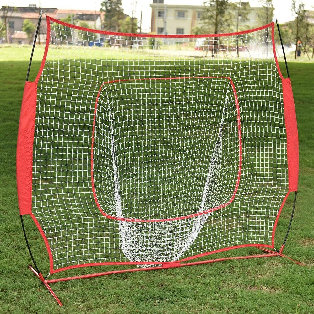 Large Baseball And Softball Pitching Practice Net Red - Shopptique