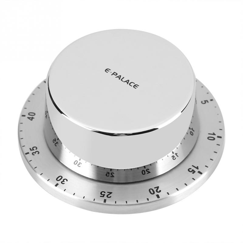 Stainless Steel Kitchen Cooking Timer Default Title - Shopptique