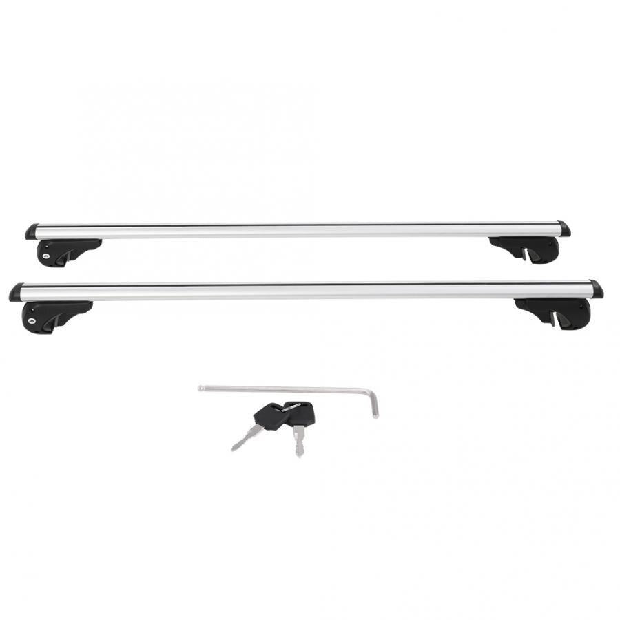"Universal Heavy Duty Car Roof Rack Luggage Cross Bars 51"" - Shopptique"