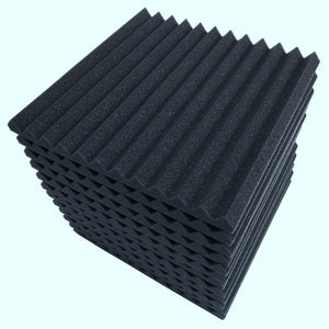 Soundproof Acoustic Studio Foam Wall Panels 12pcs - Shopptique