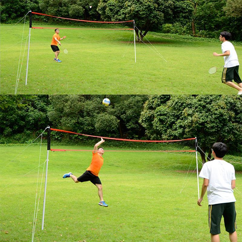 Heavy Duty Portable Outdoor Pool Volleyball Net - Shopptique
