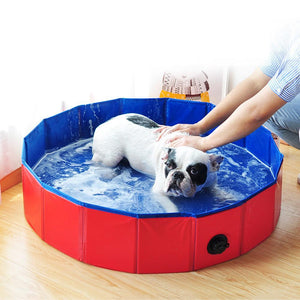Spacious Portable Bathtub For Dogs Blue / 60X20cm - Shopptique