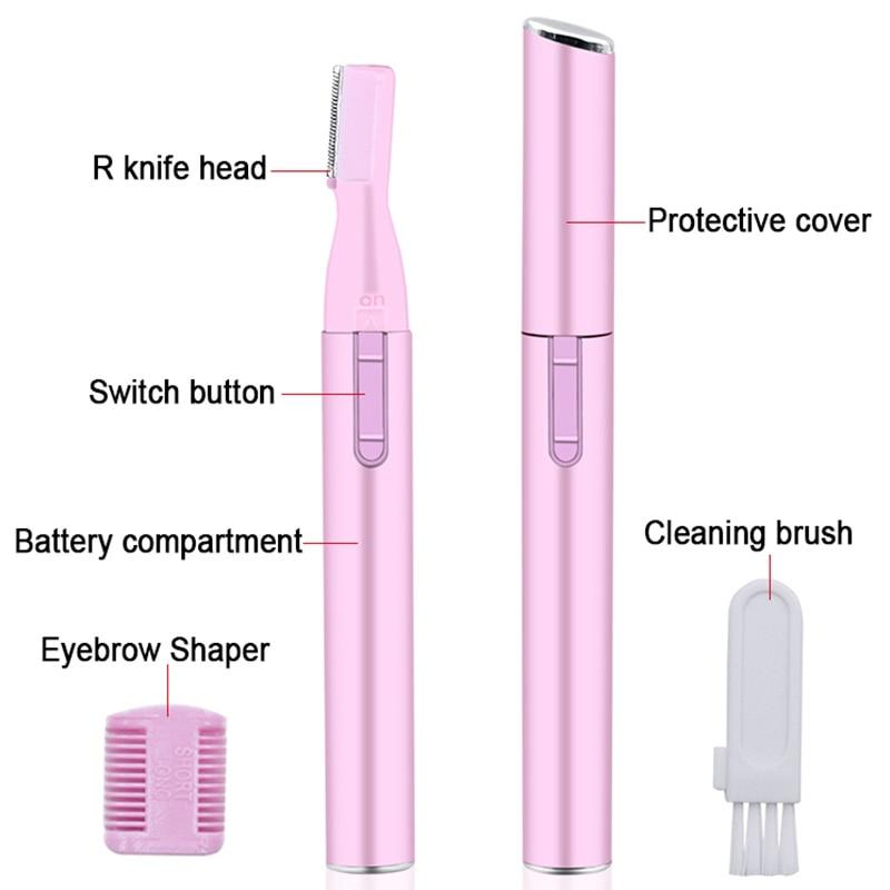 All-in-1 Microtouch Hair Trimmer Eyebrow Scissors Hair Trimmer Mini Portable Women Body Shaver Remover Blade Razor Epilator - Shopptique