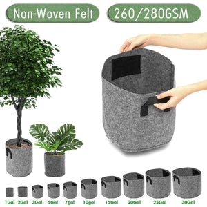 Heavy Duty Fabric Plant Root Sack Grow Bag - Shopptique